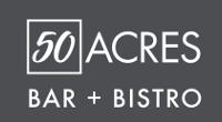 50 Acres Bar + Bistro logo options