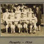 Prahran Premiers 1934