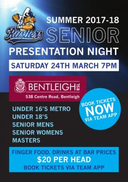Senior Presentation Night 2017-18